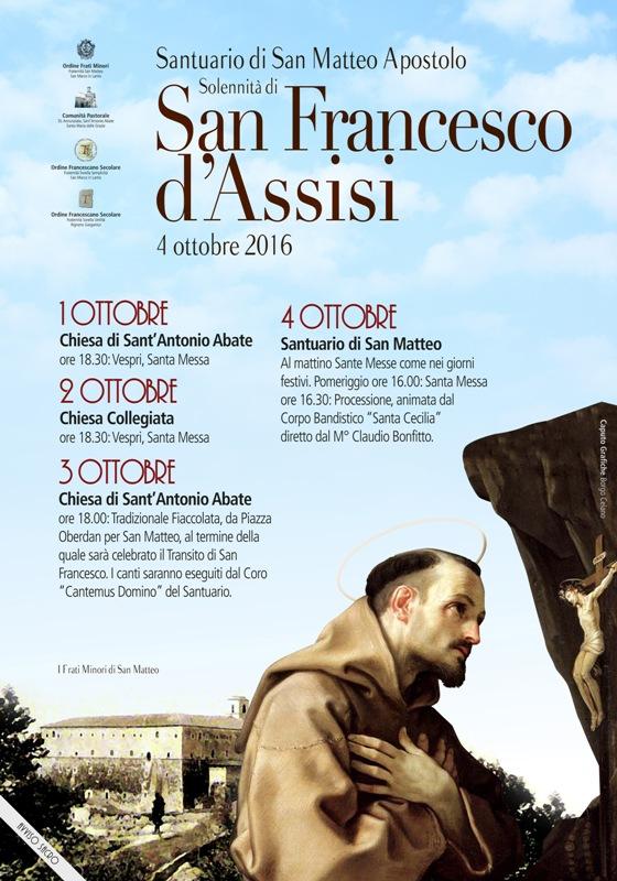 manifesto san francesco 2016